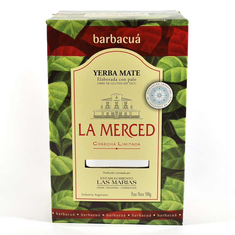 Мате La Merced Barbacua (продымленный)